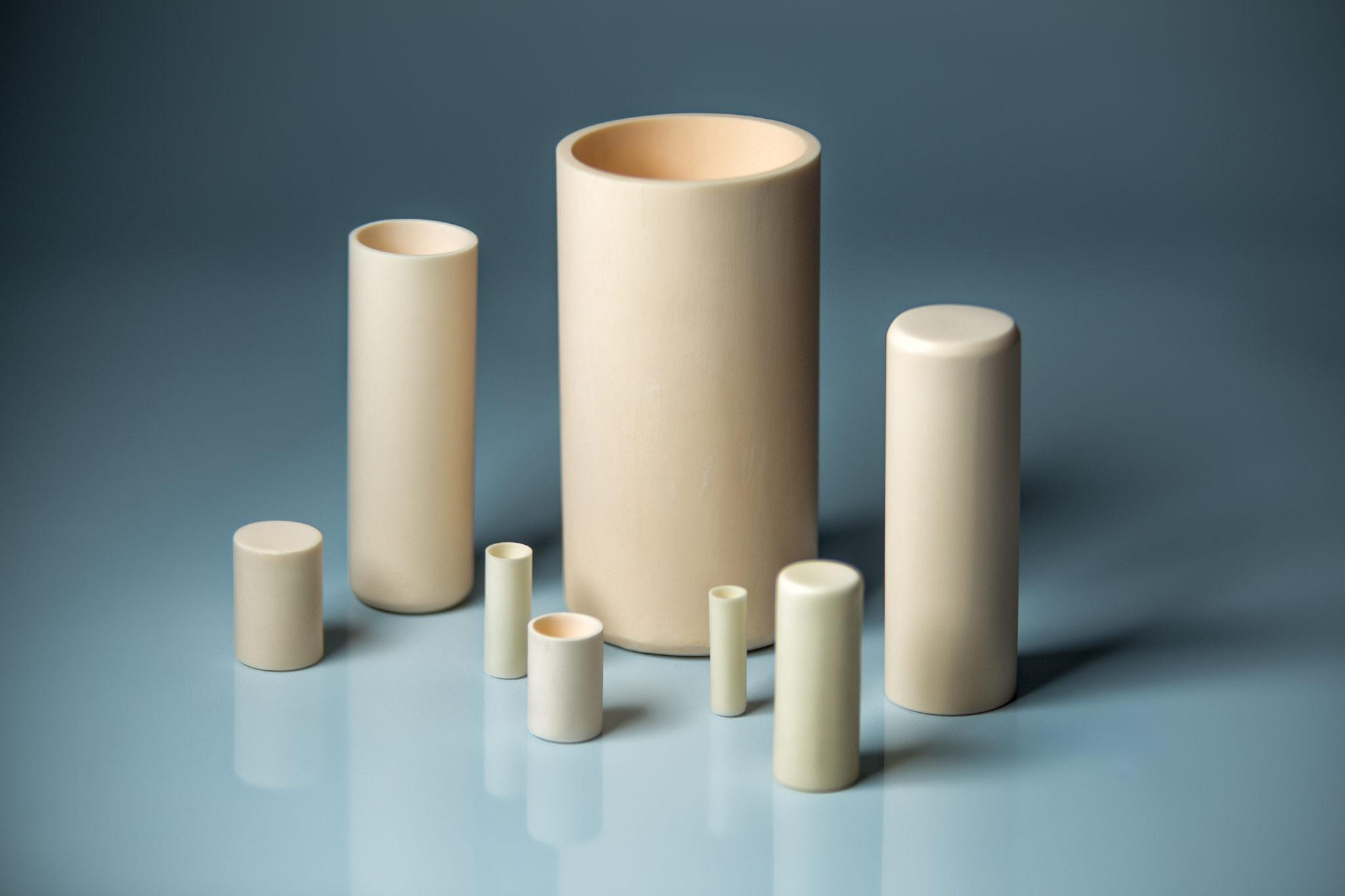 Alumina Cylindrical Cruicible