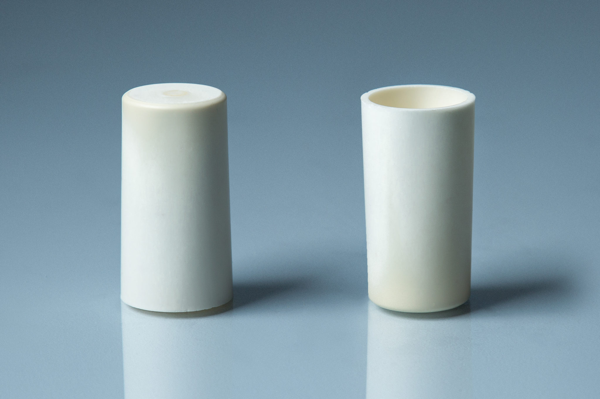 Alumina Flat Bottom Conicale