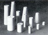 Steatite Conical Light Duty Standoff Insulators