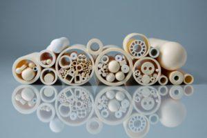 Alumina ceramic tubes multiple shapes sizes