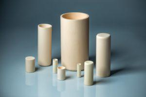 Alumina Cylindrical Crucible