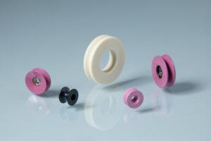 Alumina ceramic pulley group