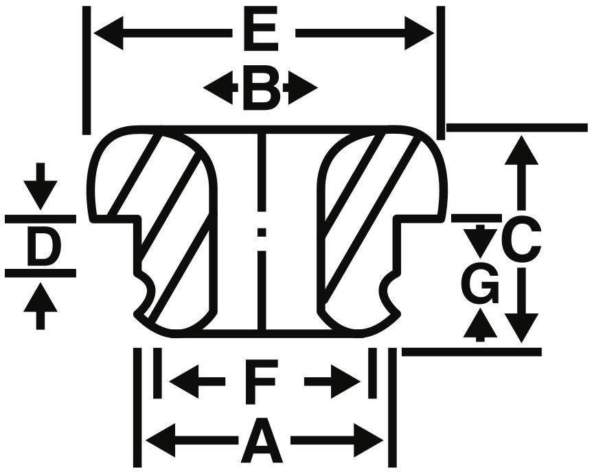 Grooved Eyelets Diagram