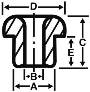 Plain Eyelets Diagram